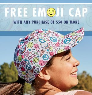 Free hat with $50 purchase!