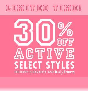 30% Off Active