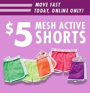 $5 Mesh Shorts