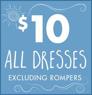 $10 All Dresses