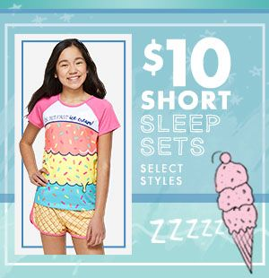 $10 2 Piece Short Sleepsets