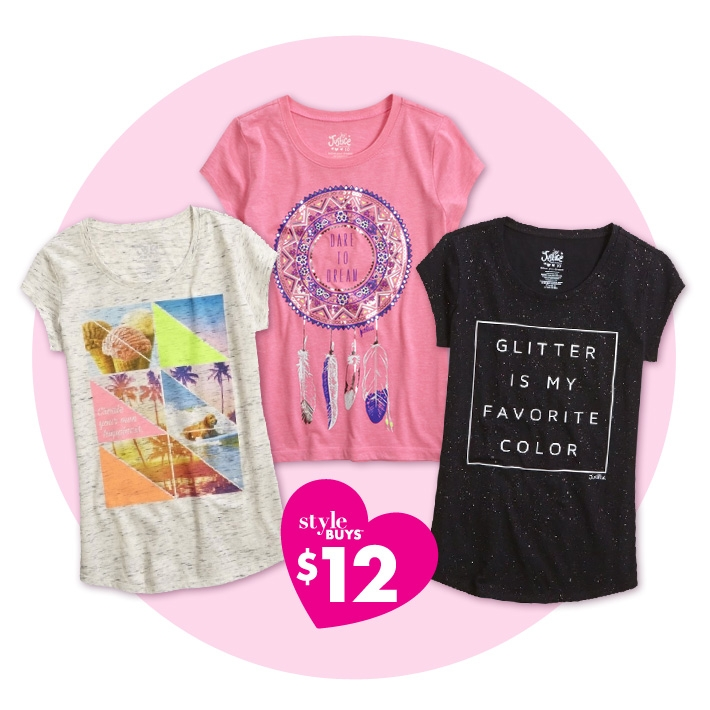 Graphic tee shirts