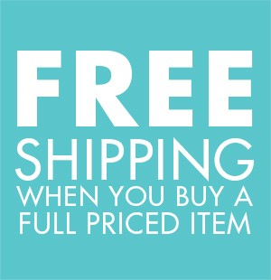 Free shipping with a regular price item