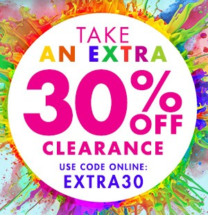 Extra 30% off Clearance - Use online Code EXTRA30