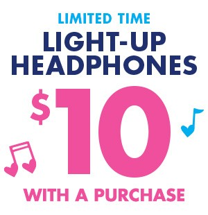 $10 Light Up Headphones