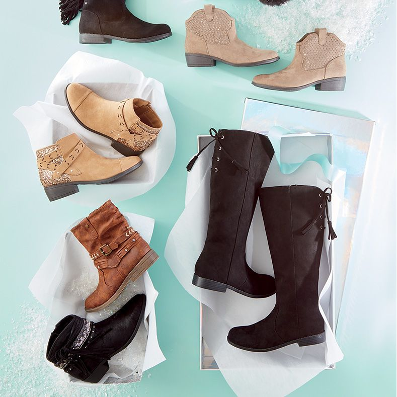 50% Off boots & select shoes