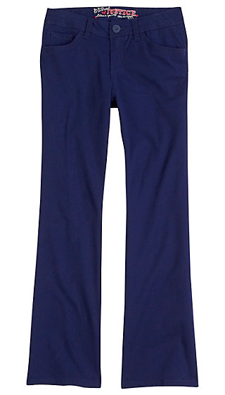 School Uniform Bootcut Pants