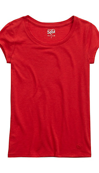 Light Layering Scoop Neck Tee