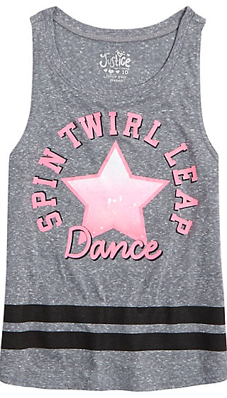 Embellished Dance Tank