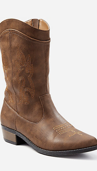 Embroidered Cowboy Boots