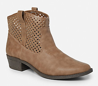 Perforated Cowboy Boots