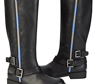 Side Zip Riding Boots