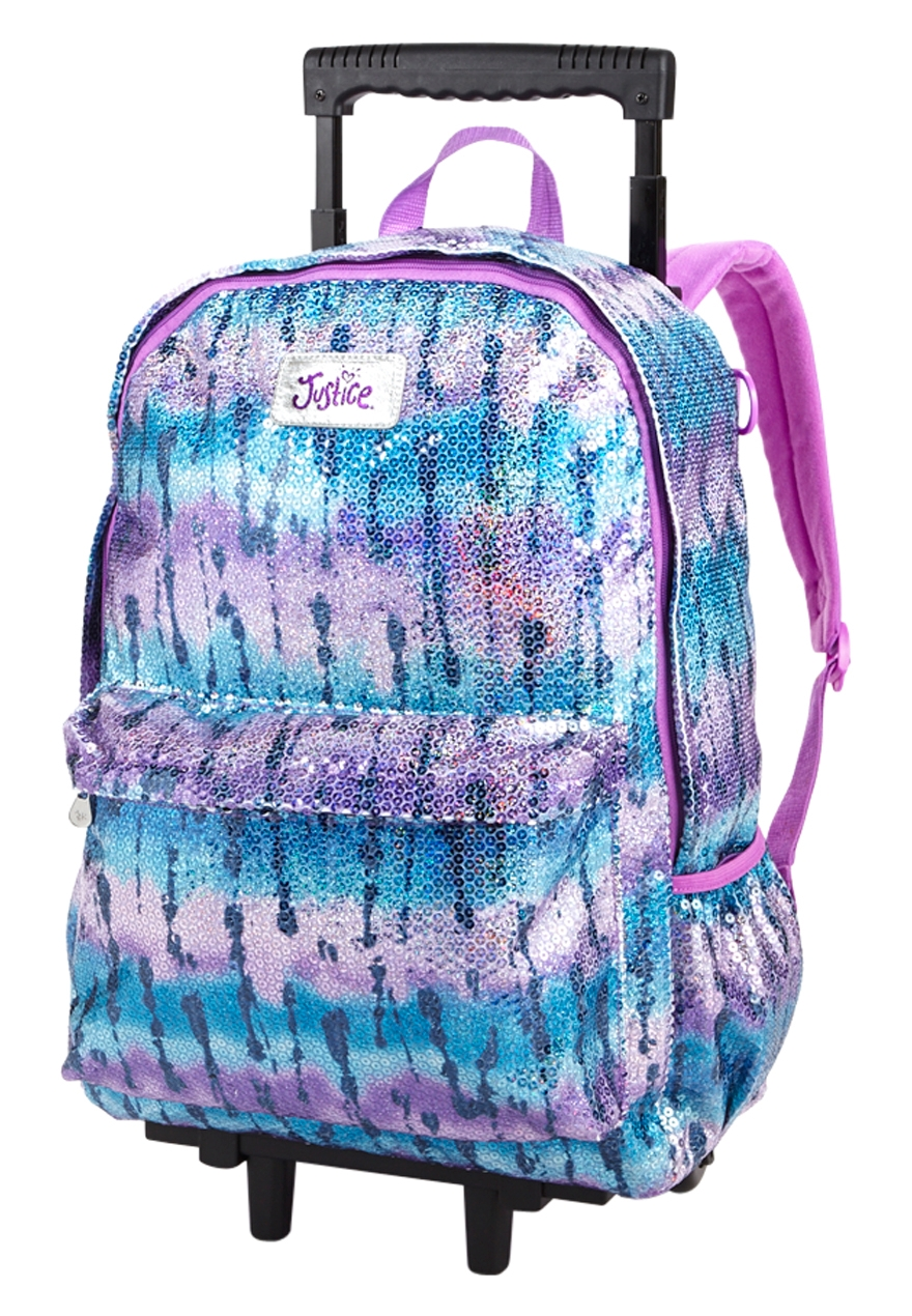 Rolling Backpacks At Justice | Os Backpacks