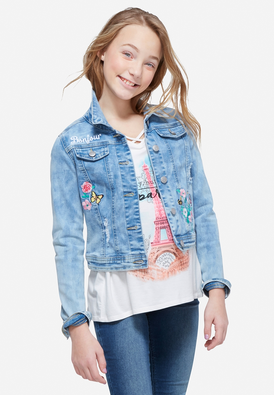 Girls&39 Outerwear - Coats Denim Jackets &amp More | Justice
