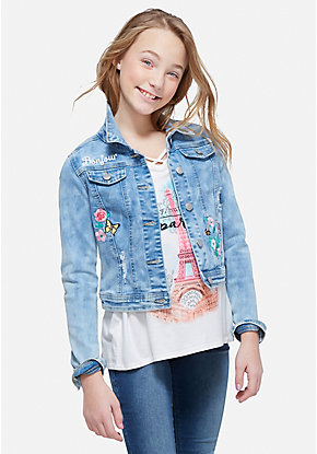Girls' Outerwear - Coats, Denim Jackets & More   Justice