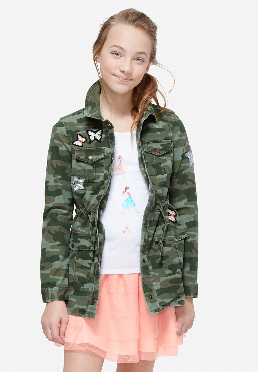 Girls' Outerwear - Coats Denim Jackets & More | Justice