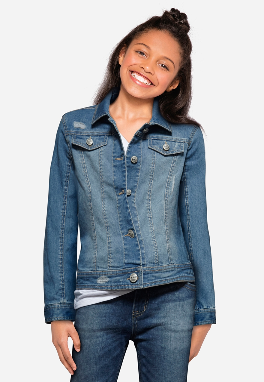 Girls' Outerwear - Coats, Denim Jackets & More | Justice