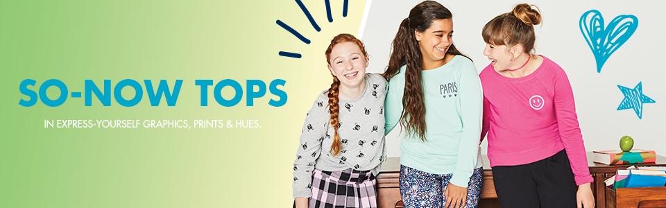 Shop Justice Tops