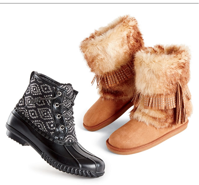 Weather-ready Boots