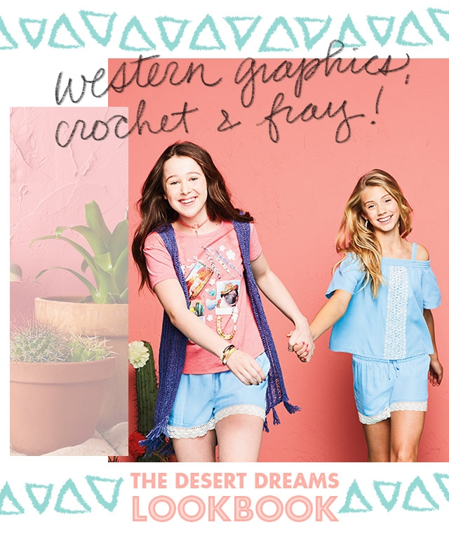 Explore the desert dreams lookbook!