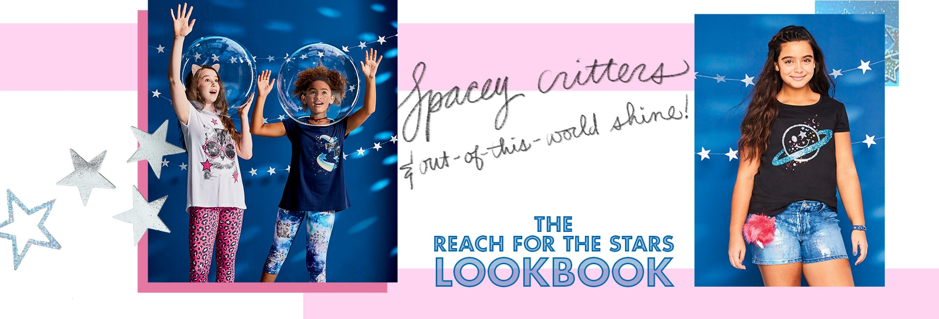 Explore the reach for the stars lookbook!