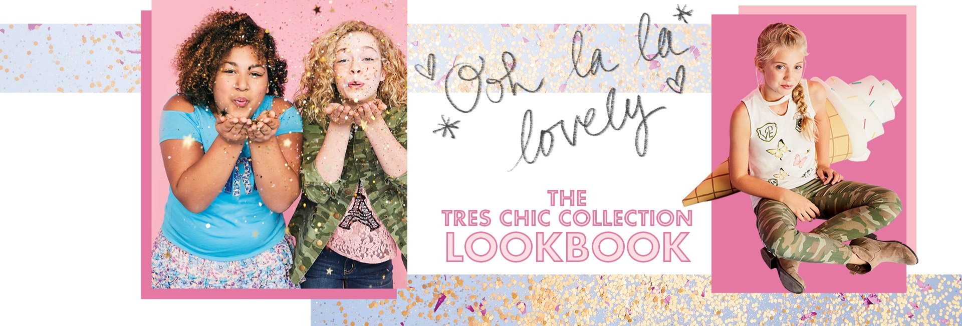 Explore the tre chic lookbook!