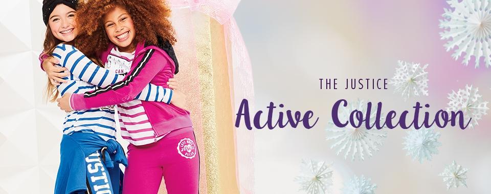 Shop Justice activewear!
