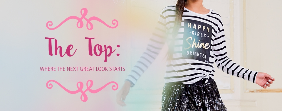 Shop all Justice tops!