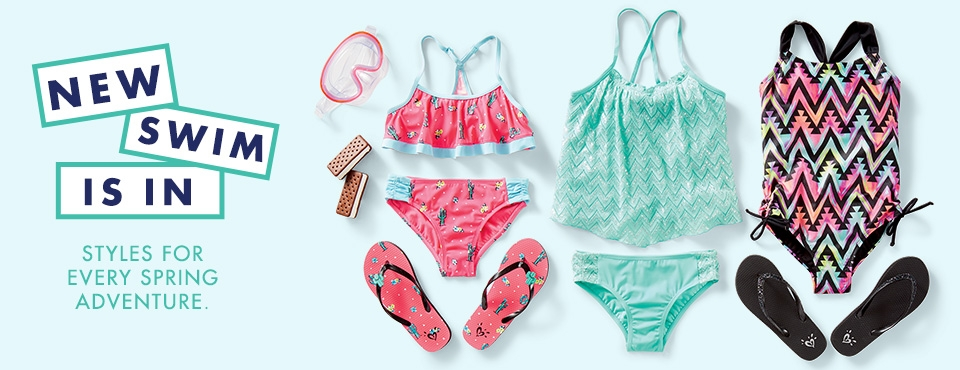 Shop Justice Swim, style for every spring adventure!!