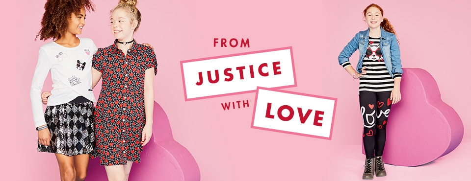 Shop Justice Valentines collection!