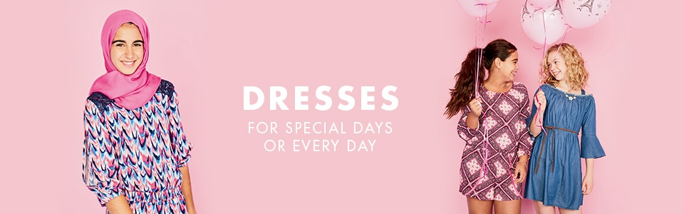 Shop all Justice dresses!