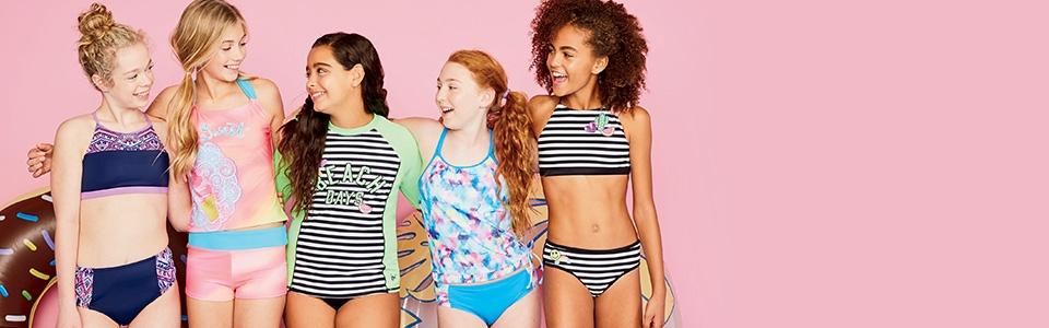 Shop Justice Swimwear!!