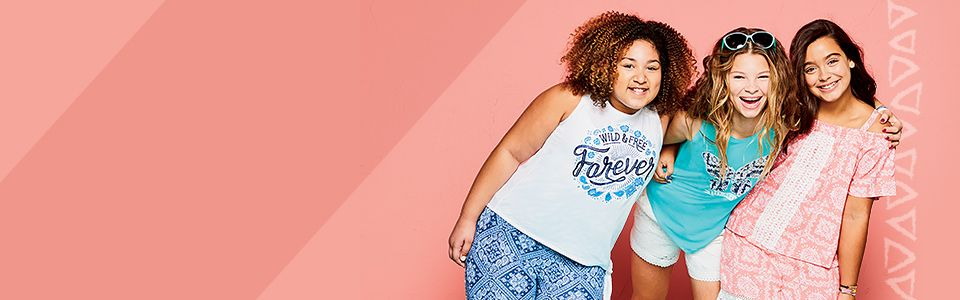 Fashion for every girl and every size, shop our now extended sizes!