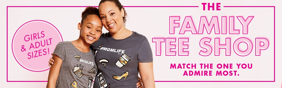 Shop Family Tees!