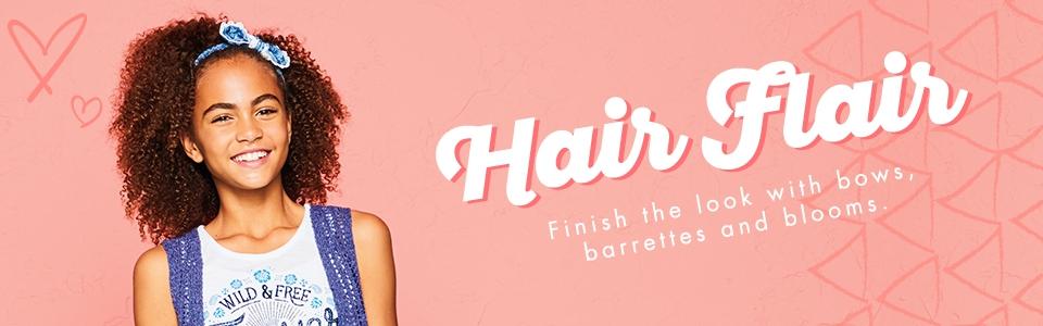 Shop Justice Hair Flair!