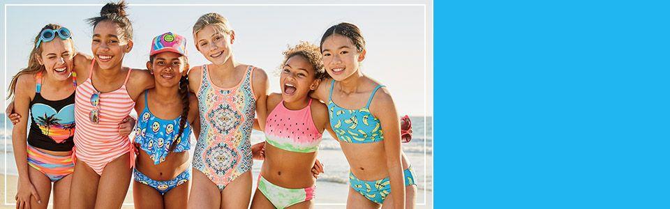 Shop Justice swimwear!