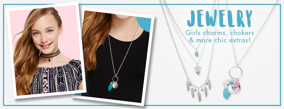 Shop Justice Girls Jewelry