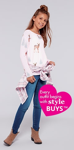 Shop style buys! Where irresistible style meets unbelievable price!