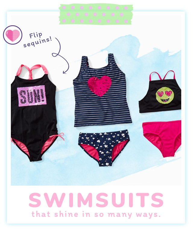Swimsuits That Shine In So Many Ways