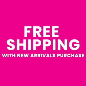 Free Shipping With New Arrivals Purchase