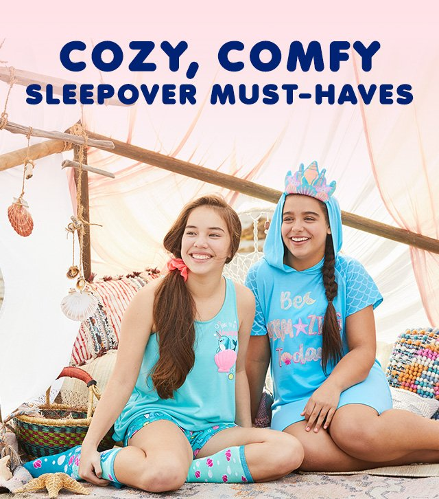 Cozy, Comfy Sleepover Must-Haves!