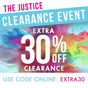 The Justice Clearance Event - Extra 30% Off Clearance!