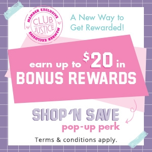 Club Justice Member Exclusive - Earn up to $20 in bonus rewards