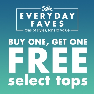 Buy one, get one free - select tops