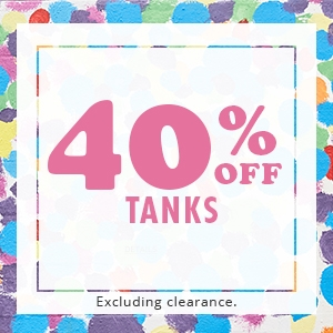 40% off Tanks