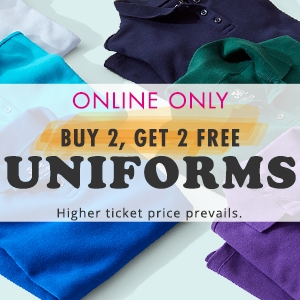 Buy 2 Get 2 Uniforms