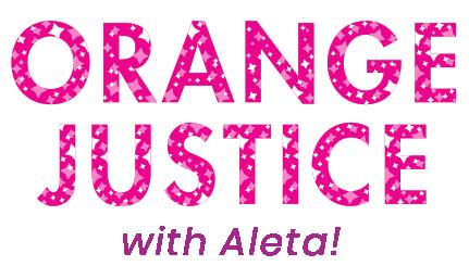 Orange Justice with Aleta!
