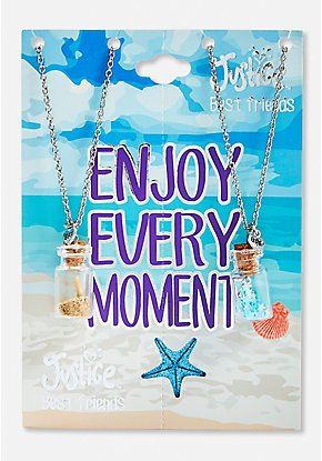 Beach BFF Potion Necklace - 2 Pack