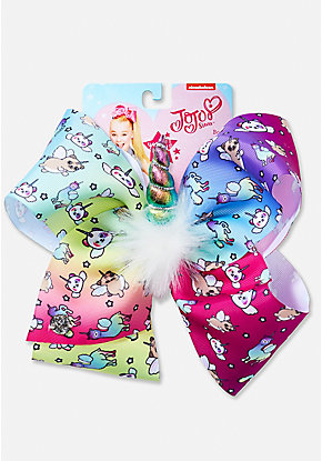 Justice Exclusive Unicorn Party Jojo Siwa Hair Bow