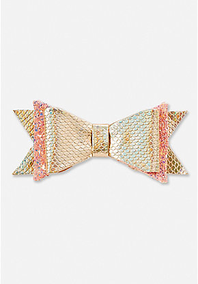 Mermaid Double Bow Hair Clip